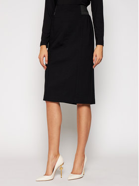 Persona by Marina Rinaldi Persona by Marina Rinaldi Pouzdrová sukně 1773030 Černá Regular Fit