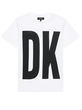 DKNY DKNY Každodenné šaty D32777 S Biela Regular Fit