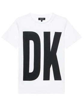 DKNY DKNY Vestito da giorno D32777 S Bianco Regular Fit
