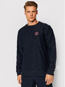 Tommy Hilfiger Tommy Hilfiger Sweatshirt All-Over Logo UM0UM02138 Dunkelblau Regular Fit
