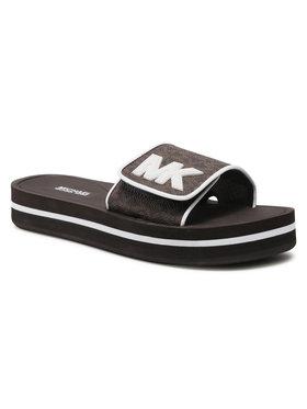 MICHAEL Michael Kors MICHAEL Michael Kors Šľapky Mk Platform Slide 40S1MKFA2B Hnedá