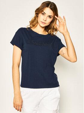 Napapijri Napapijri T-Shirt Siccari NP0A4E3WB Granatowy Regular Fit