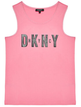 DKNY DKNY Top D35R21 D Różowy Regular Fit