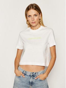 Calvin Klein Jeans Calvin Klein Jeans T-shirt J20J211495 Blanc Regular Fit