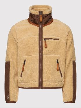 Polo Ralph Lauren Polo Ralph Lauren Polár kabát 211866340001 Barna Regular Fit