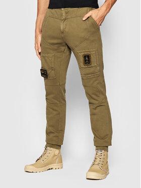 Aeronautica Militare Aeronautica Militare Текстилни панталони 212PF743J505 Кафяв Regular Fit