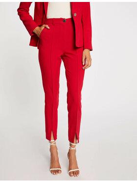 Morgan Morgan Spodnie materiałowe 212-PDORA.F Czerwony Regular Fit