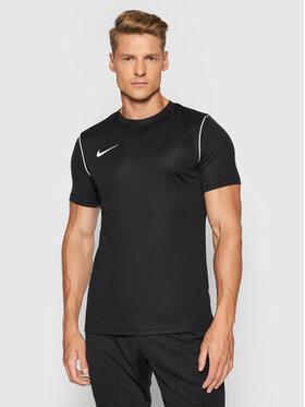 Nike Nike Тениска от техническо трико Dri-Fit BV6883 Черен Regular Fit