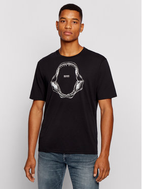 Boss Boss T-shirt Tima 2 50450923 Crna Relaxed Fit