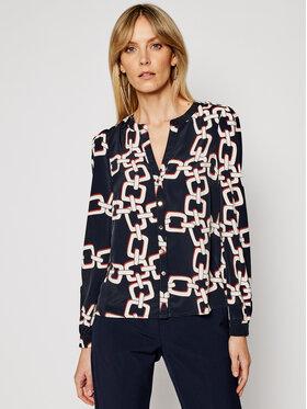 Morgan Morgan Marškiniai 211-CALOU.F Tamsiai mėlyna Regular Fit