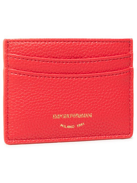 Emporio Armani Emporio Armani Kreditkartenetui Y3H013 YFW9B 80003 Rot