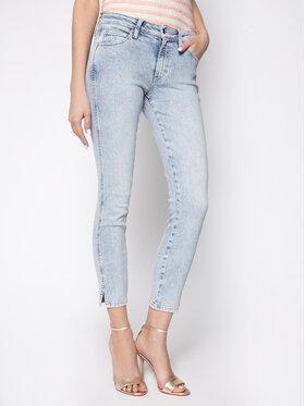 Calvin Klein Jeans Calvin Klein Jeans Дънки Skinny Fit Mid Rise Ankle J20J213897 Син Skinny Fit