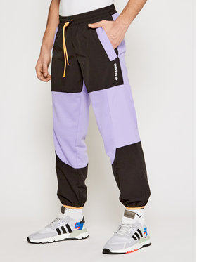 adidas adidas Pantaloni da tuta Adventure Colorblock GN2368 Viola Regular Fit