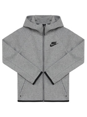 Nike Nike Bluza Nsw Tech Junior AR4020 Szary Standard Fit