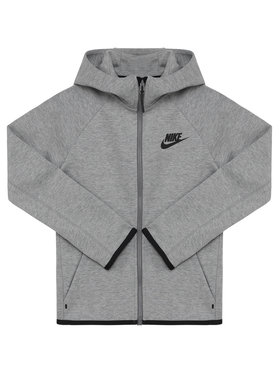 NIKE NIKE Mikina Nsw Tech Junior AR4020 Sivá Standard Fit
