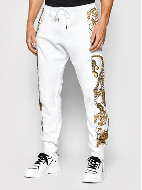 Versace Jeans Couture Versace Jeans Couture Spodnie dresowe 71GAA3C0 Biały Regular Fit