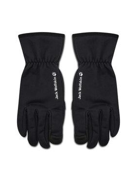 Jack Wolfskin Jack Wolfskin Pánske rukavice Stormlock Hydro Glove 1909162 Čierna