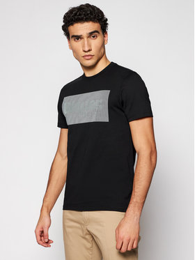 Blauer Blauer T-shirt Lenticular Print 21SBLUH02133 004547 Crna Regular Fit