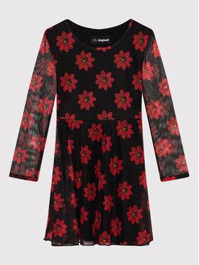 Desigual Desigual Елегантна рокля Alicia 21WGVK18 Черен Regular Fit