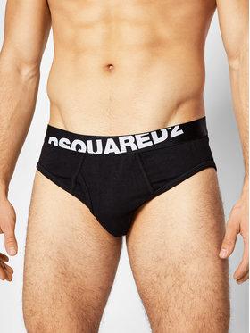 Dsquared2 Underwear Dsquared2 Underwear Trumpikės DCL670030 Juoda