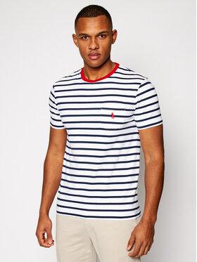Polo Ralph Lauren Polo Ralph Lauren T-Shirt Yd 710823561002 Bílá Slim Fit