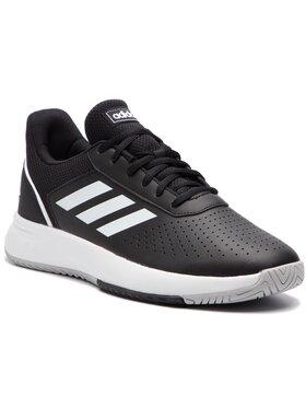 adidas adidas Topánky Courtsmash F36717 Čierna