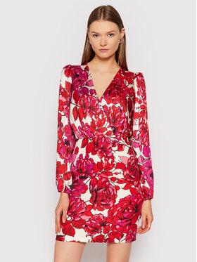 Rinascimento Rinascimento Sukienka koktajlowa CFC0104813003 Czerwony Regular Fit