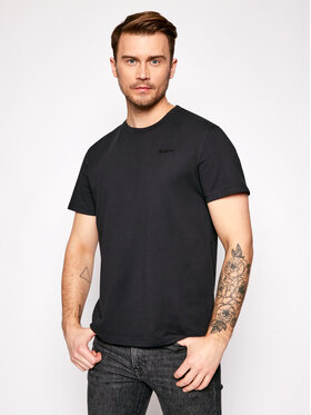 Pepe Jeans Pepe Jeans Тишърт Jim PM507764 Черен Relaxed Fit