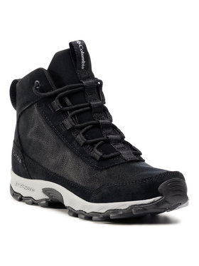 Columbia Columbia Chaussures de trekking Youth Flow Borough Mid BY0121 Noir