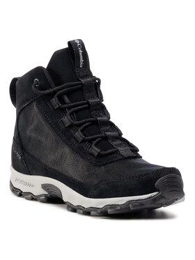 Columbia Columbia Trekingová obuv Youth Flow Borough Mid BY0121 Černá