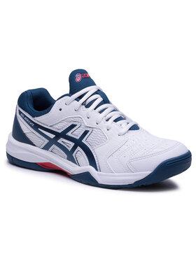 Asics Asics Παπούτσια Gel-Dedicate 6 1041A074 Λευκό