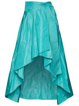 Pinko Pinko Maxi sukně Caramella 20201 BLK01 1G14KL 7922 Modrá Regular Fit