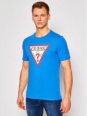 Guess Guess T-Shirt M1RI71 I3Z11 Niebieski Slim Fit