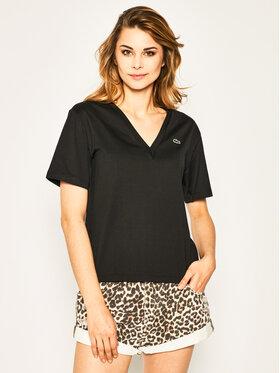 Lacoste Lacoste T-shirt TF5458 Noir Regular Fit