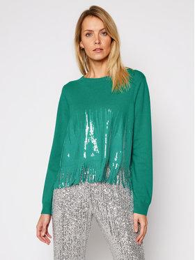 Pinko Pinko Sweater Trial 21 BLK01 1G15SL Y6TR Zöld Regular Fit