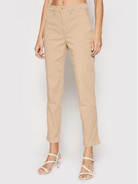 Lauren Ralph Lauren Lauren Ralph Lauren Spodnie materiałowe 200812287002 Brązowy Regular Fit
