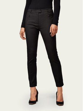 Boss Boss Текстилни панталони Anaita5 50290225 Черен Slim Fit