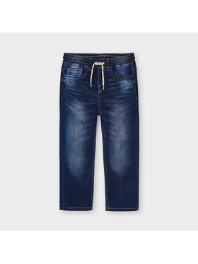 Mayoral Mayoral Jeansy 3567 Granatowy Jogger Fit