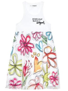 Desigual Desigual Kleid für den Alltag Laura 21SGVK08 Bunt Regular Fit