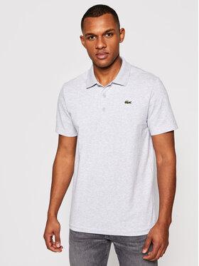 Lacoste Lacoste Тениска с яка и копчета DH2881 Сив Regular Fit