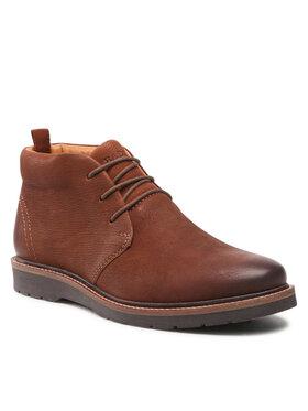 Badura Badura Šnurovacia obuv MI07-BB142-A969-01 Hnedá