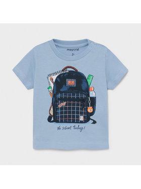 Mayoral Mayoral T-Shirt 1011 Niebieski Regular Fit