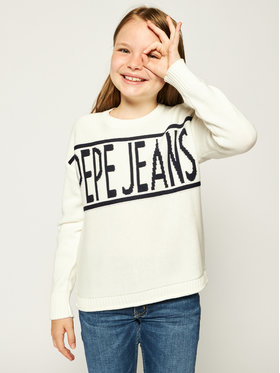 Pepe Jeans Pepe Jeans Sveter Vivian PG700895 Béžová Regular Fit