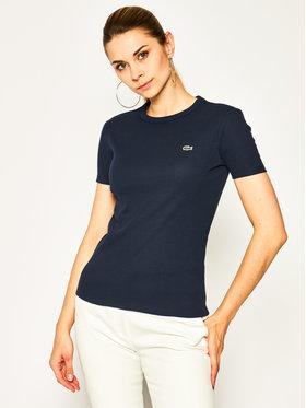 Lacoste Lacoste T-shirt TF5463 Bleu marine Regular Fit