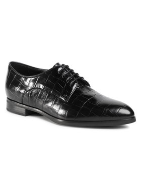 Gino Rossi Gino Rossi Oxford cipők DPK386-S48-1026-9900-0 Fekete