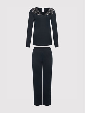 Hanro Hanro Pyjama Moments 7932 Schwarz