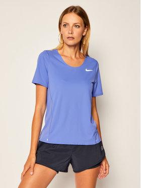 Nike Nike Funkčné tričko City Sleek CJ9444 Fialová Standard Fit