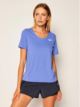 Nike Nike Maglietta tecnica City Sleek CJ9444 Viola Standard Fit