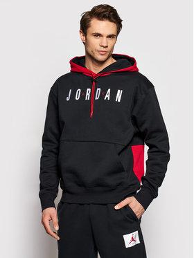 Nike Nike Bluză Jumpman CW8434 Negru Standard Fit