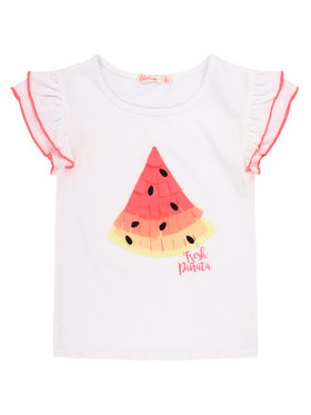 Billieblush Billieblush T-Shirt U15730 Bílá Regular Fit